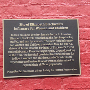 Site of Elizabeth Blackwell's Infirmary for Women and Children