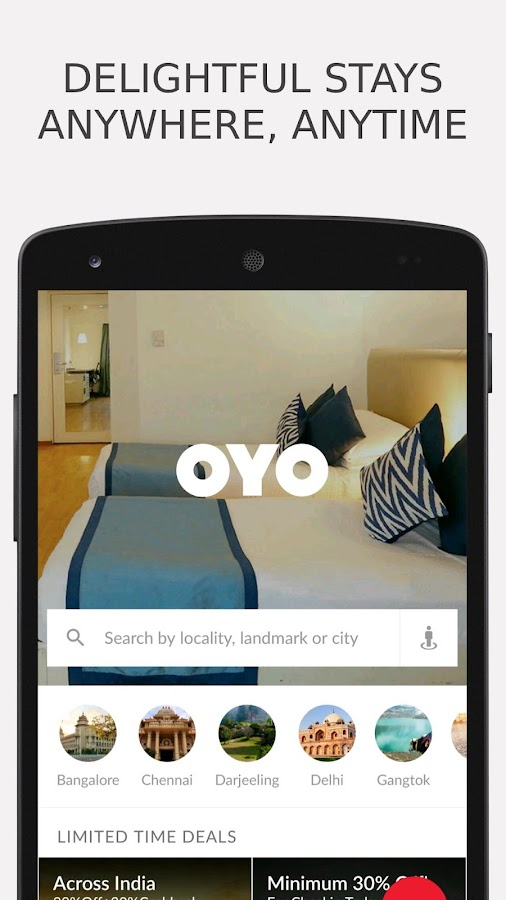 OYO - Online Hotel Booking App Screenshot 0