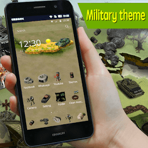 Military army icons theme pack for Android