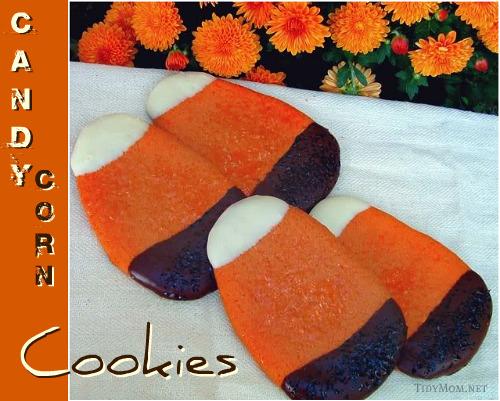 Candy Corn Sugar Cookies Recipe | Yummly