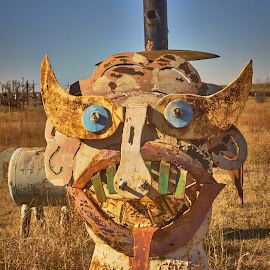 Mr. Ugly  by Jeff Brown - Artistic Objects Other Objects ( other objects, artistic objects, metal art )