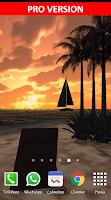 Screenshot of Beach In Bali 3D FREE LWP