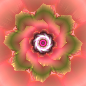 Flower 36 by Cassy 67 - Illustration Abstract & Patterns ( digital, harmony, lovely, flowers, blossom, abstract art, abstract, summer, fractals, digital art, flower, classic, bloom, modern, fractal, energy )