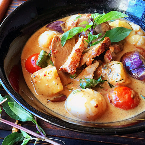 Turning up the heat on Thai Style Red Duck Curry