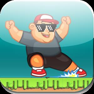 Chubby bungee rush:Speed Run For PC (Windows & MAC)