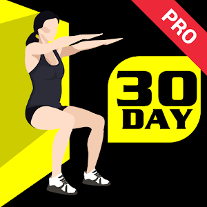 Cover art 30 Day Wall Sit Challenge Pro