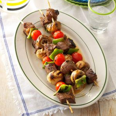 Skirt Steak Skewers With Blue Cheese Dip Recipes — Dishmaps
