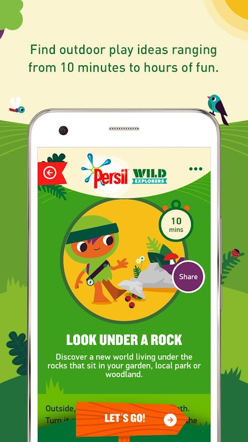 Persil Wild Explorers Screenshot 2