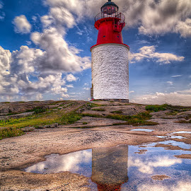 Hållø  Lighthouse. by John Aavitsland - Buildings & Architecture Public & Historical