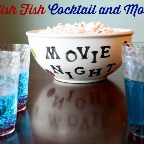 Swedish Fish Cocktail and Mocktail