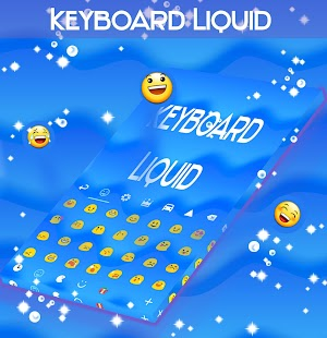 Liquid Keyboard - screenshot