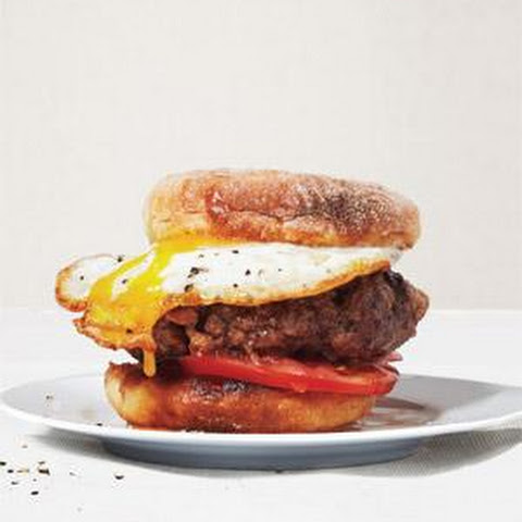Beef, Bacon, and Egg Burgers