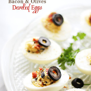 Deviled Eggs With Bacon And Olives Recipes