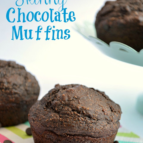 Skinny Chocolate Muffins