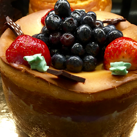 Cheesecake with Fruits by Lope Piamonte Jr - Food & Drink Candy & Dessert