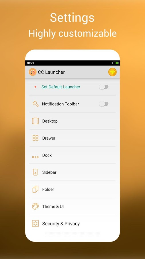 CC Launcher - Cool & Cute Screenshot 4