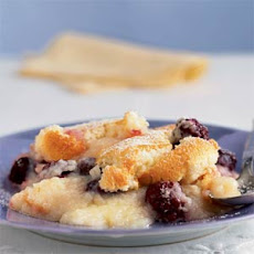 Blackberry-Lemon Pudding Cake