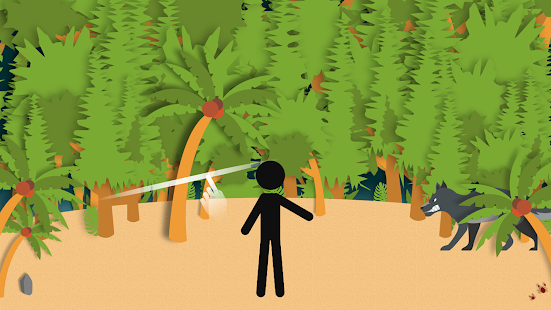 Stickman Escape - Island