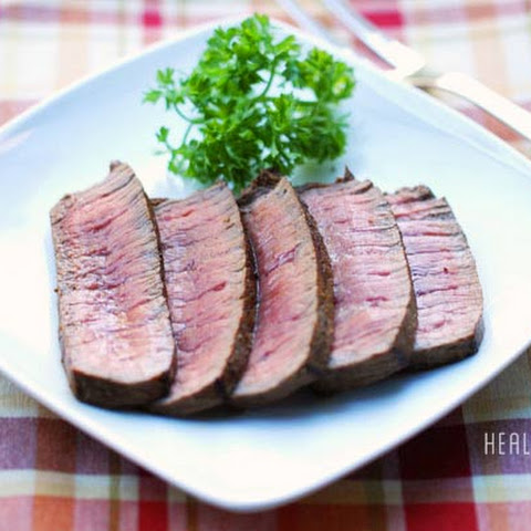 Pan Fried London Broil