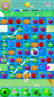 Shocking Fruit Match 3 - screenshot