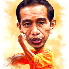 Jokowi Si Pitung dari Solo by Surya Hidayat HB - Digital Art People