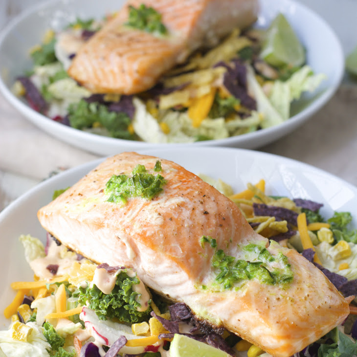 Roasted Salmon with Jalapeño Lime Butter Recipe | Yummly
