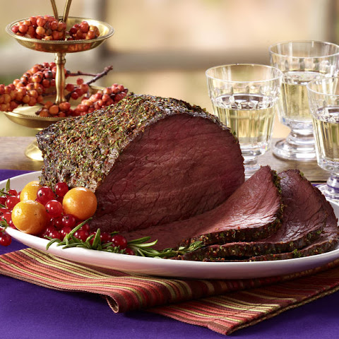 Mustard & Garlic Roast Beef