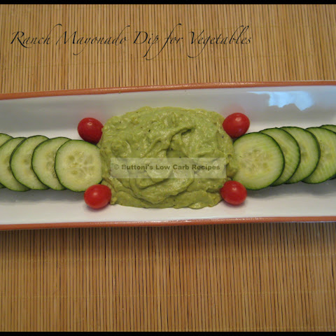 Ranch Mayonado Dip for Vegetable Trays