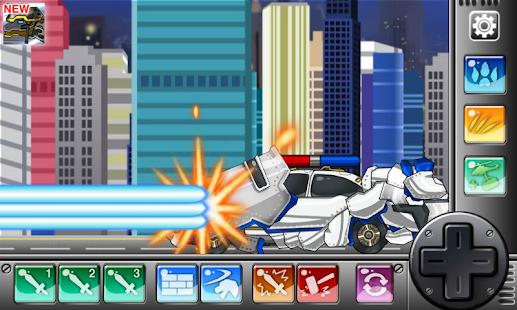 T-rex Cops - Dino Robot APK for Lenovo
