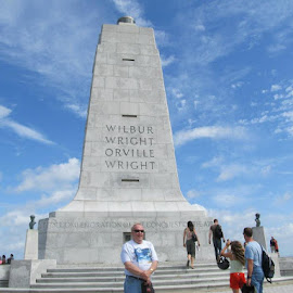 Wright Brothers National Memorial by Maricor Bayotas-Brizzi - City,  Street & Park  Historic Districts