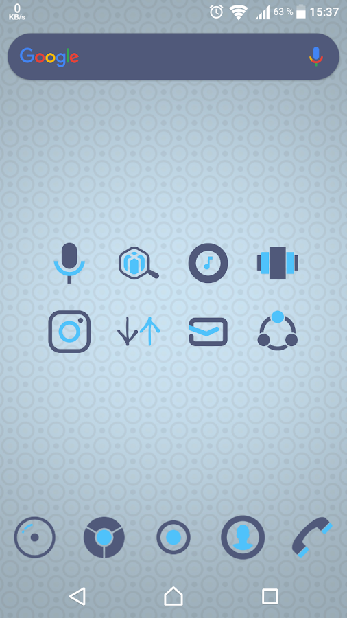 Amons - Icon Pack Screenshot 1