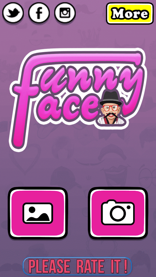 Funny Face Changer Pro Screenshot 1