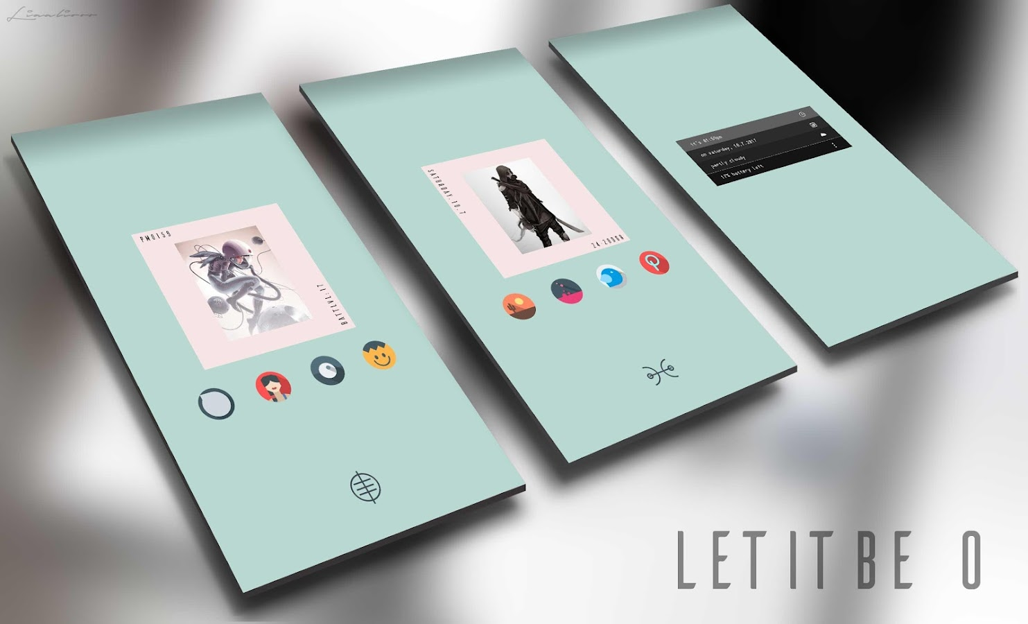 Let It Be O - Pixel 2 Minimalist Icon Pack Screenshot 6