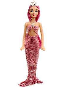 "Кукла ""Abbie"" Русалка - розовая"