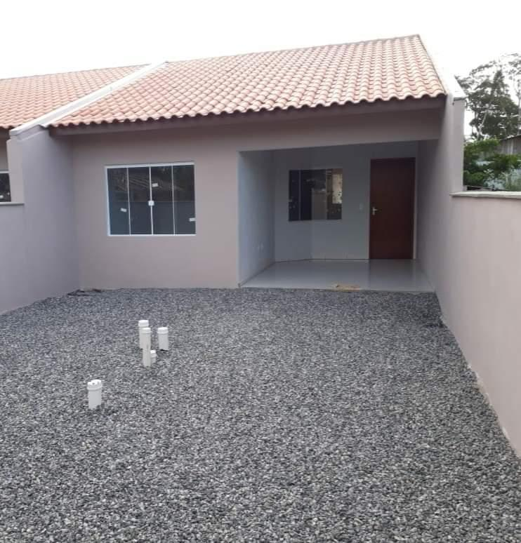 Imóveis em Itapoá SC, Casa nova  com 2 dormitórios à venda, 64 m² por R$ 130.000 - Praia dos Veleiros
