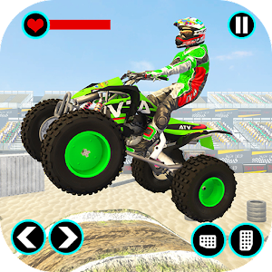 Xtreme Quad Bike Demolition Derby Racing Stunts For PC / Windows 7/8/10 / Mac – Free Download