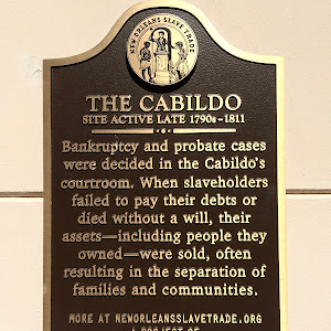 THE CABILDO SITE ACTIVE LATE 1790s–1811 Bankruptcy and probate cases were decided in the Cabildo's courtroom. When slaveholders failed to pay their debts or died without a will, their ...