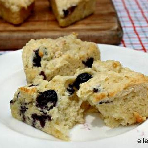 Low Calorie Dessert Blueberry Scone