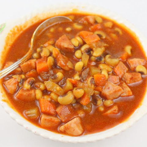 Tomato Black-Eyed Pea Soup