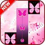 Pink Butterfly Piano Tiles 20  file APK Free for PC, smart TV Download