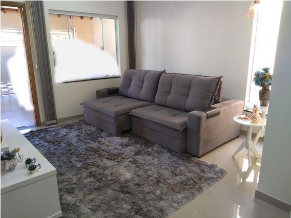 Casa com 3 dormitórios à venda, 125 m² por R$ 396.900,00 - Santa Luiza II - Nova Odessa/SP