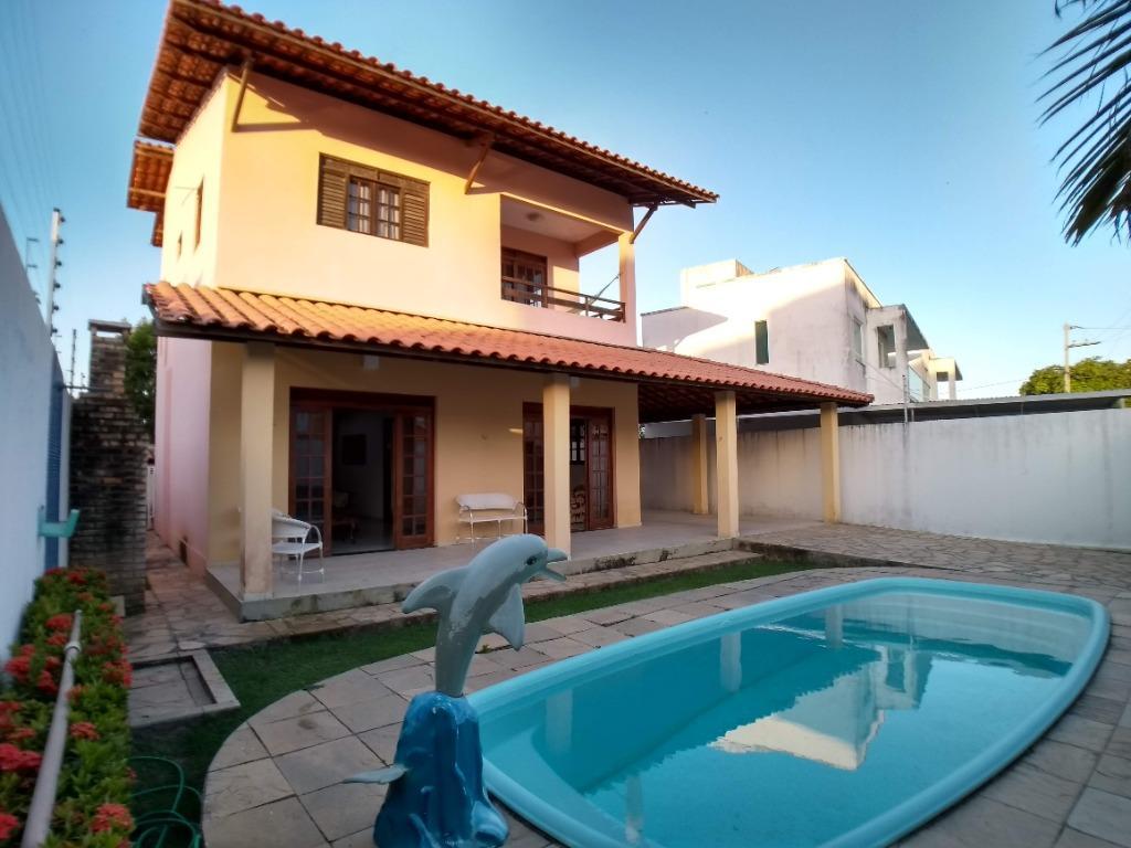 Casa com 4 dormitórios à venda por R$ 690.000 - Ponta de Campina - Cabedelo/PB