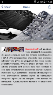basketprivee - screenshot