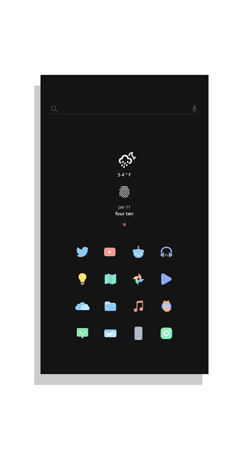 Kecil - Icon Pack for Android Screenshot 1