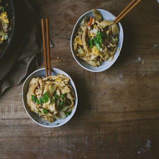Homemade Knife-Cut Noodles with Simple Pork Chao Mian