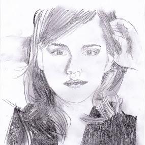Emma Watson by Karissa Best - Drawing All Drawing ( harry, watson, hermione, potter, emma )