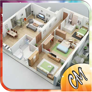 3d modern house plan android apps on google play for Home design 3d 5 0 crack