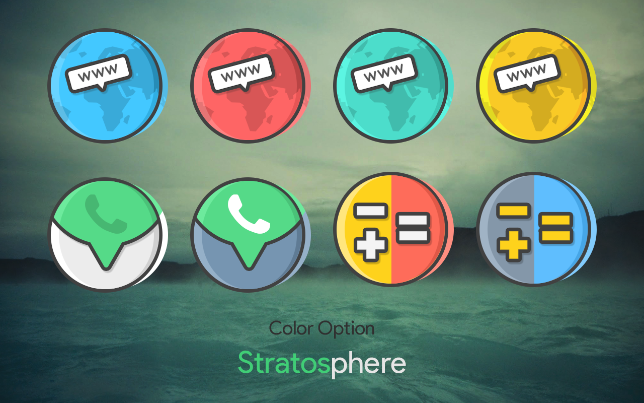 Stratos - Icon Pack Screenshot 2