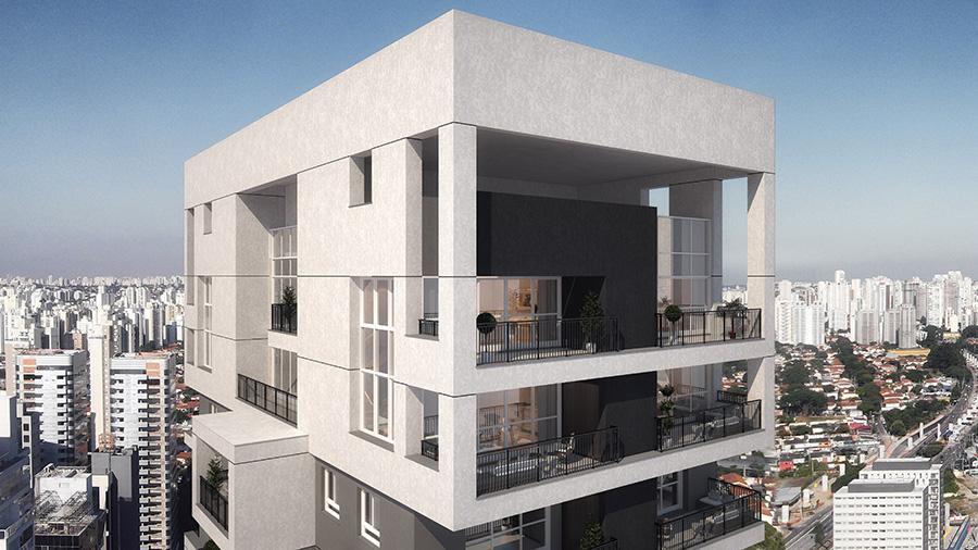 Vista Aérea da Cobertura Duplex