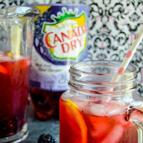 Blackberry Lemon Ginger Fizz
